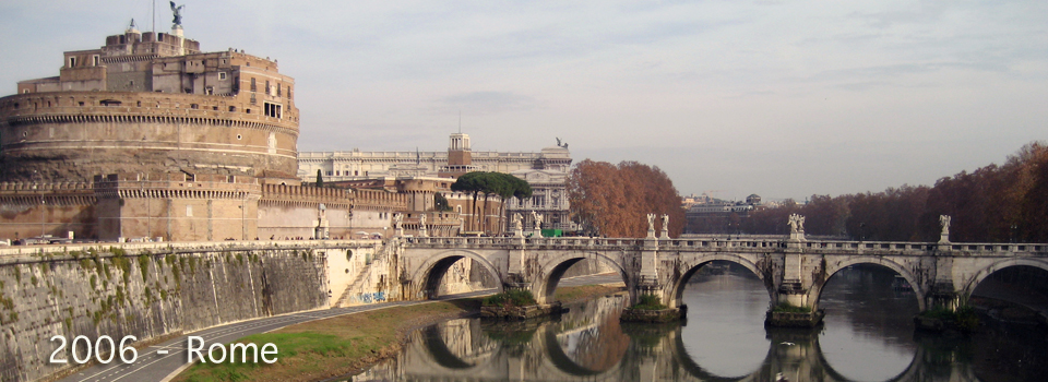 2006 – Rome; Christmas, Zampognari and Santo Bambino