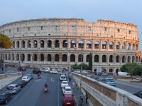 Colosseo at Sunset