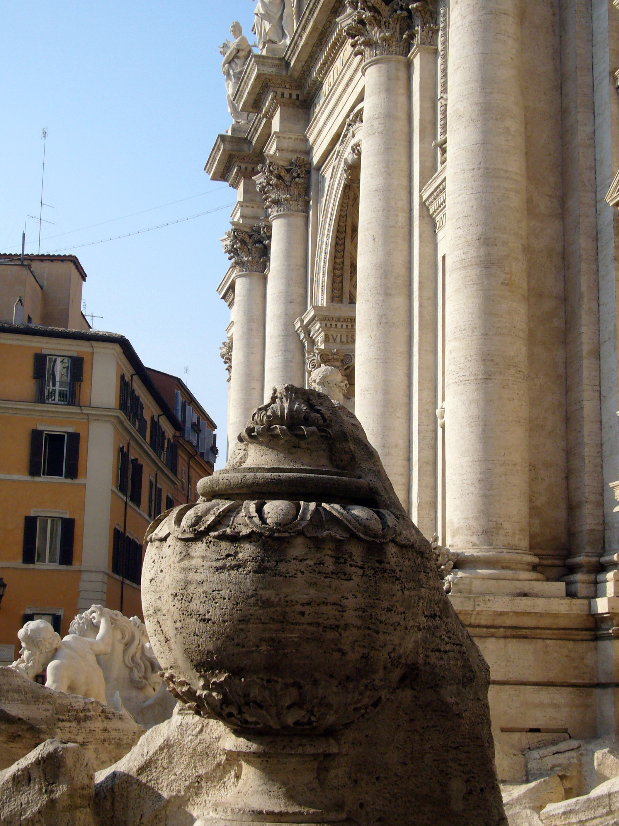 Legends Of The Trevi Fountain Rome On Rome