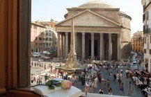 The Pantheon and Piazza della Rotondo