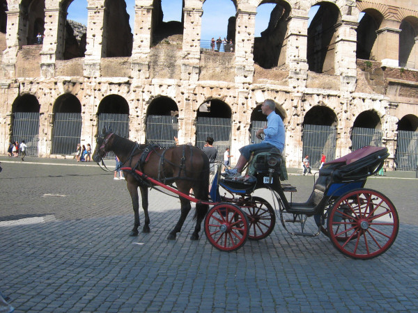 horseCarriageColosseo