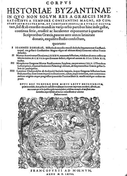 Corpus Historiae Byzantinae   Google Books
