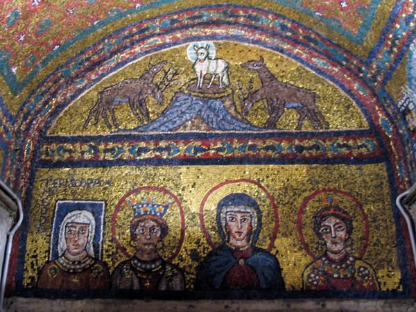 Mosaic_in_Santa_Prassede_-_Theodora,_Agnus_Dei