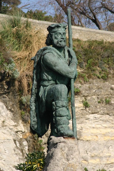 statue_Corocotta_CantabrianLeader_Santander