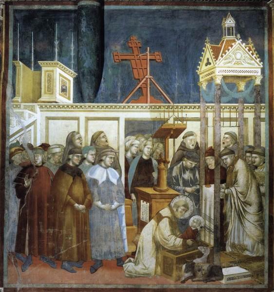 St Francis & crib Giotto