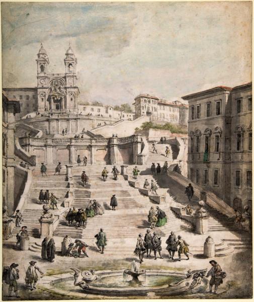 ScalinataDellaTrinitaDeiMonti?GiovanniPaoloPanini?1756'58