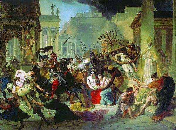Genseric_sacking_Rome_KarlBriullov_1836