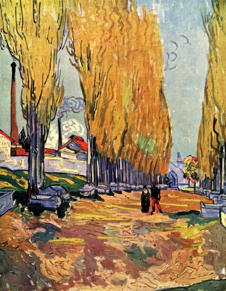 les-alyscamps-VanGogh_1888