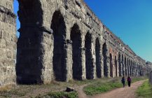 Ancient water and the Park of the Aqueducts