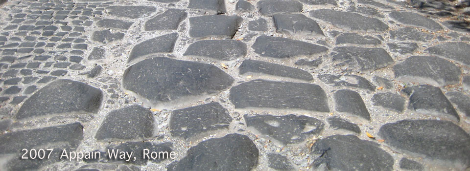 2007 – Rome; Walking tours in the Dog days of Summer