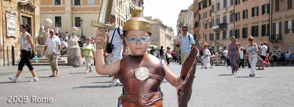 2009 – Rome; Vatican,Trastevere and the Ancient City
