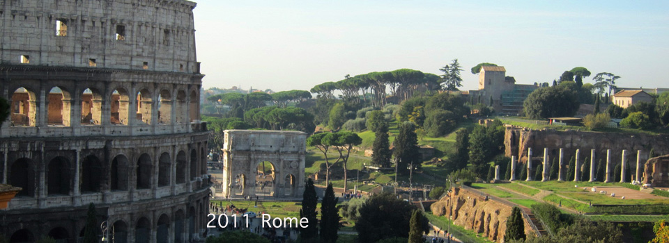 2011 – Rome, the Monti, Sant'Angelo and Palazzo Colonna
