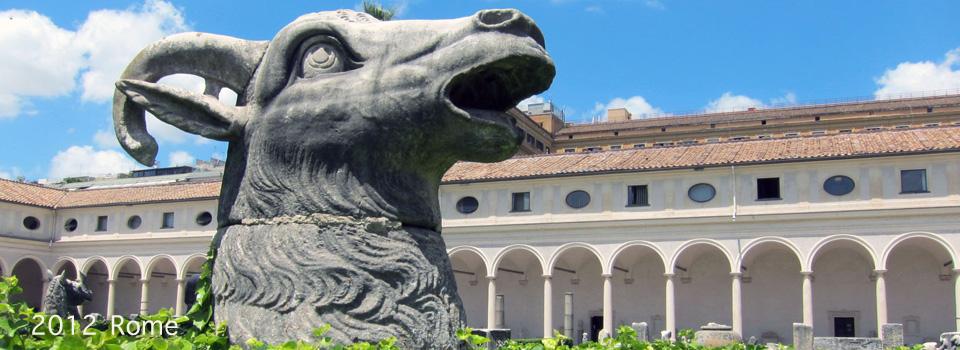 2012 – Rome; Monti, Monuments, Baths, Churches and EUR